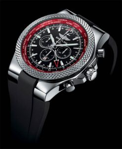 The Bentley GMT V8 Chronograph watch, a tribute the Bentley Continental GT V8.