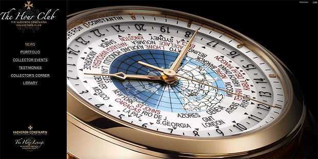 Vacheron Constantin Hour Club. A club dedicated to collectors of its time pieces.