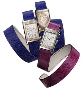 The Jaeger-LeCoultre Grande Reverso Lady Ultra Thin with unique style and savoir-faire.