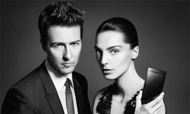 Edward Norton and Daria Werbowy launch the new Prada Phone by LG 3.0.