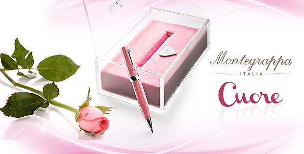 The Montegrappa Cuore Pen - for Valentines Day Lovers around the world!