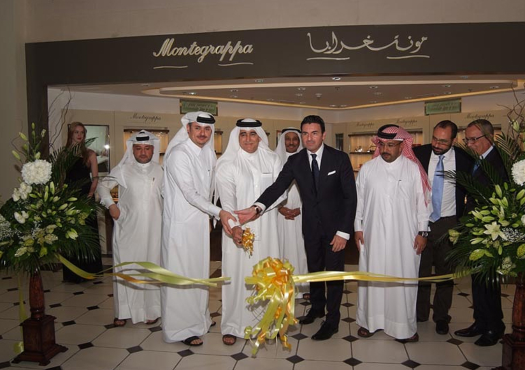 Montegrappa opens its latest Middle East boutique in The Mall in Doha.