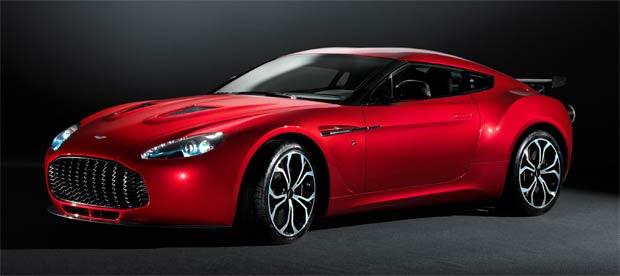 Aston Martin unveil the first official images of the V12 Zagato road car.
