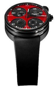 The Meccaniche Veloti Only One Collection Quattro Valvole 44 Chronograph watch.