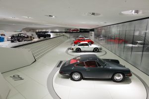 """As a curtain raiser for 2012, the new generation of the 911 is being displayed as part of a major special exhibition from 31 January to 20 May, 2012 under the banner """"911 Identity""""."""