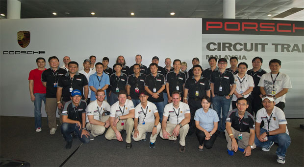 Porsche owners were given a speed treat for a day around the Sepang International Circuit.