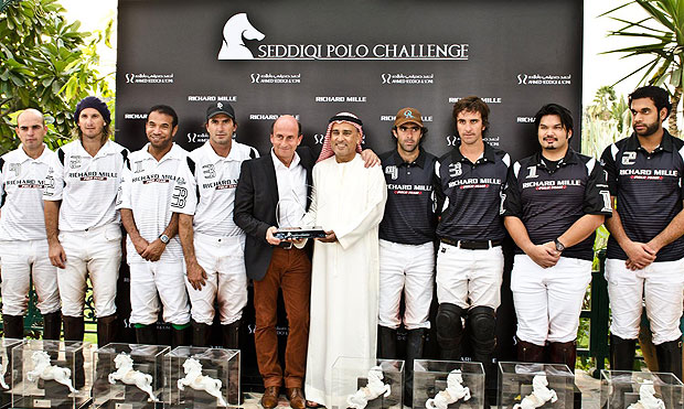 It was an exceptional first edition of the 'Seddiqi Polo Challenge' which paid homage to the three best polo players in the world.