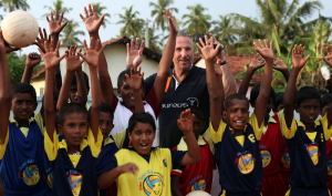 Sir Ian Bothma and the Seenigama Sport for Life Project - Galle, Sri Lanka