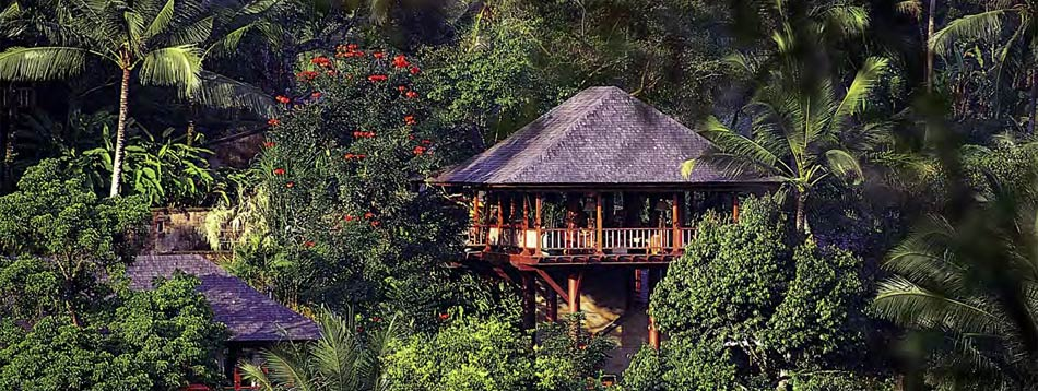 The Como Shambala Estate at Begawan Giri, a luxurious residential health retreat.