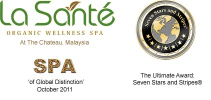 "Experiencing 'La Santé Spa' as an organic wellness spa, ""granting its guests a complete organic wellness experience by denying methods that involve modern synthetics, instead utilizing cultural, biological, and mechanical practices that promote ecological balance, conserve biodiversity and foster recycling of our natural resources"" was a great honor."