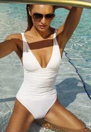 Zeki say that White swimwear is the must have beachwear for 2012