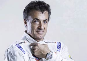 The Aluminium F.P Journe Centigraphe Sport watch as worn by Jean Alesi. 3