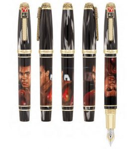 Montegrappa of Italy's limited edition pens for Muhammad Ali's 70th birthday.