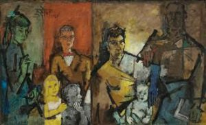 The Christies Spring Sale of South Asian Modern and Contemporary Art.