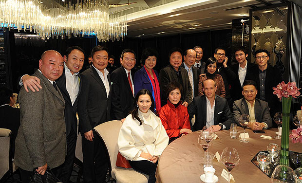 The Audemars Piguet 2012 Chinese New Year dinner Celebrating the Year of Dragon.