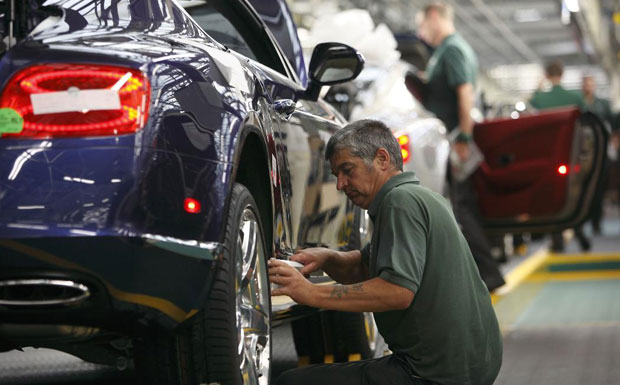 Bentley Motors has for the first time become one of a select few organisations nationwide to be named as a Top Employer for 2012.