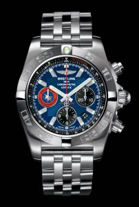 The Breitling Chronomat 44 Chronograph TOPGUN limited edition watch.