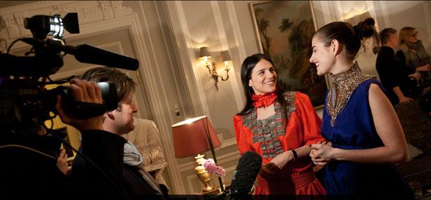 Dorchester Collection Launches 2012 Fashion Prize at Hôtel Plaza Athénée during Paris Fashion Week.