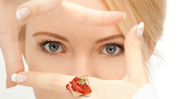 The Forever Jewels collection for Spring/Summer 2012. Inspired by nature, forever in front.