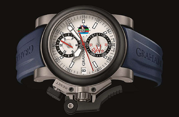 The Graham Chronofighter Oversize Referee Watch the official timepice of the RBS 6 Nations.