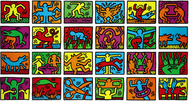 Retrospect by Keith Haring, est. £25,000-30,000