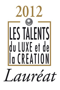 Guillaume Tetu, winner of the Talent de l'Invention design award in Paris.