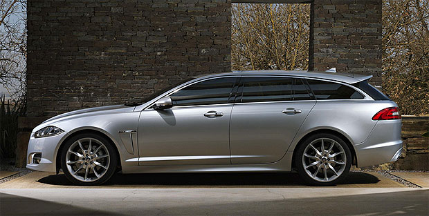 The new Jaguar XF Sportbrake the most versatile Jaguar ever created.