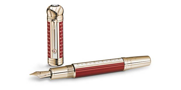 Montblanc honour patron Joseph II with limited edition writing instrument.