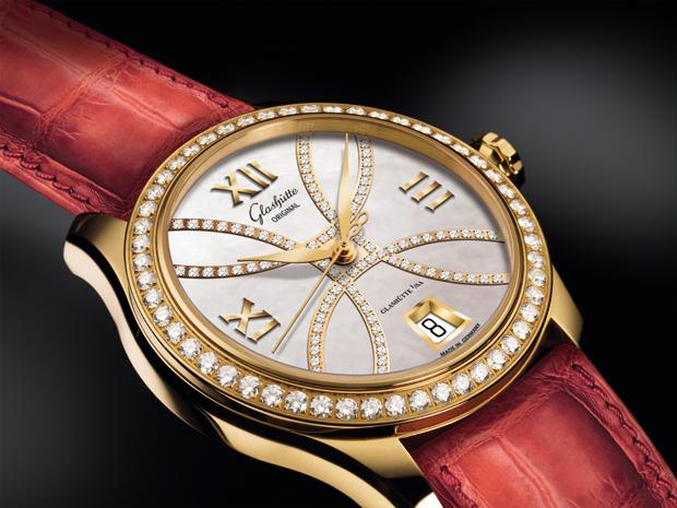 Glashütte Original's elegant Lady Collection, Feminine grace with a fresh look.