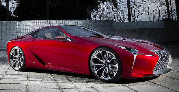 Genial The Lexus LF LC Concept Car Was The People Favourite At The Chicao Auto Show