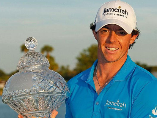 Audemars Piguet Ambassador, Golfer Rory McIlroy climbs to World Number 1. 1