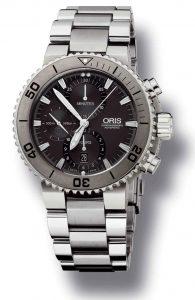 The new Oris Aquis Titan Chronograph watch - Ready to Dive Deep!