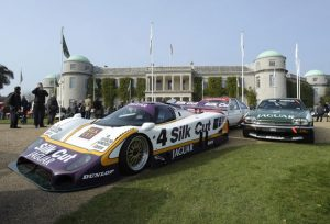 A 1984 Jaguar XJS TWR wins 'Most spirited Getaway' award at Goodwood Festival of Speed.