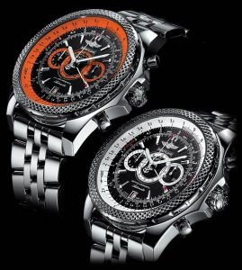 The Breitling for Bentley Supersports watch collection - A vibrantly colourful limited edition series.