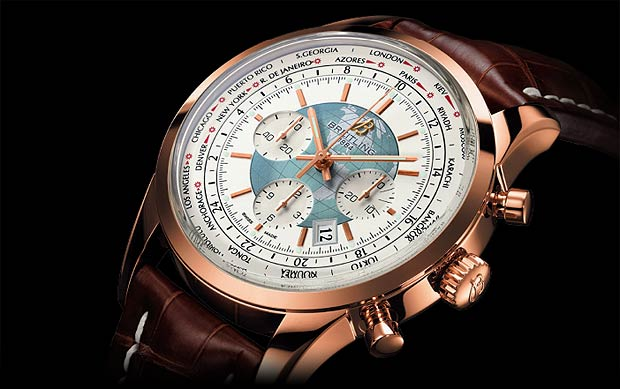 The Breitling Transocean Chronograph Unitime - Bringing the world to the wrist.