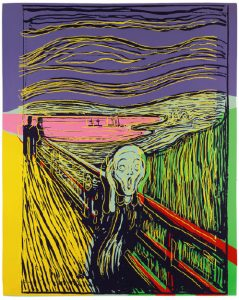 The Scream (After Munch) by Andy Warhol, est. £150,000-200,000