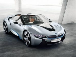 The stunning looking BMW i8 Concept Spyder - A vision of the Future. 14