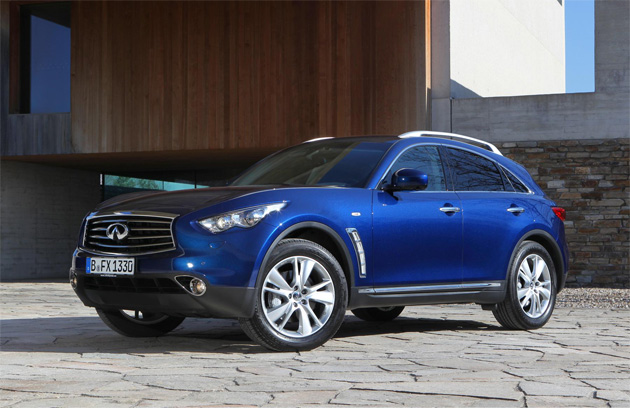 The 2012 version of the Iconic Infiniti now has more FX than ever. 4