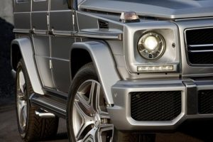 The new Mercedes-Benz G63 AMG, 37 HP more than the G55 AMG Kompressor. 13