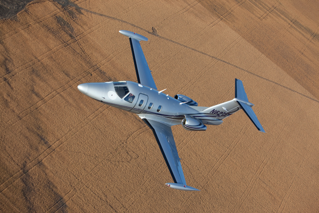 Eclipse Receives Production Certificate from FAA for the Eclipse 550.