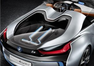 The stunning looking BMW i8 Concept Spyder - A vision of the Future. 16
