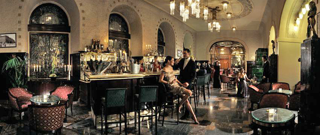 The Grand Hotel Europe sets a new bar for its historic lobby bar. 7