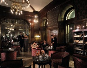 The Grand Hotel Europe sets a new bar for its historic lobby bar. 8