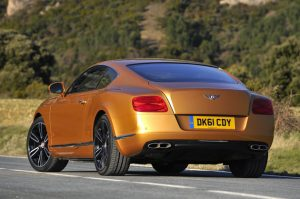 The new Bentley Continental GT V8 coupe will make its official public debut at the 2012 Beijing International Automotive Exhibition.
