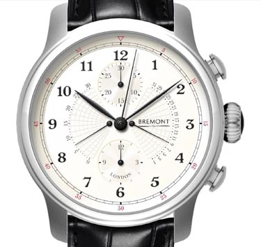 The Bremont Victory Watch made with parts from the legendary HMS Victory.
