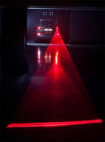 Lasers, Wipers and Swarms shed light on the future of Audi. 8