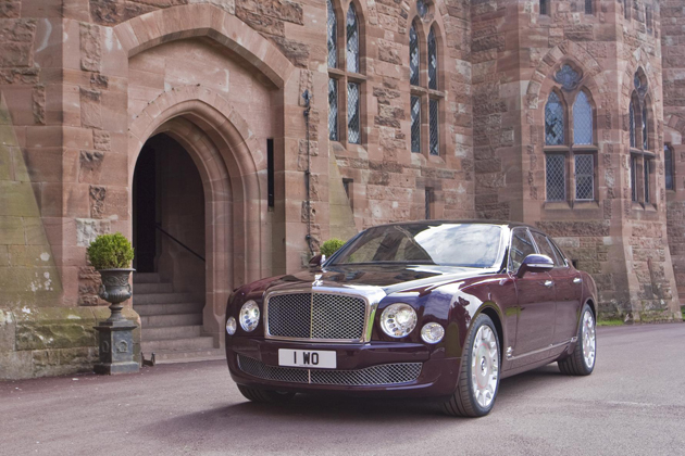 Bentley Motors honour the Royal Diamond Jubilee with sixty Special Mulsannes.