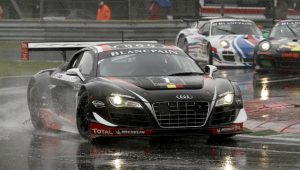 Feeling nothing like spring, continuous rain and cool temperatures around 12 degrees Celsius did not dampen the teams' and drivers' delight in competing at the 5,793m (3.6 miles) long Formula 1 track this weekend.