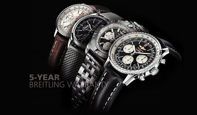The Breitling seal of confidence.