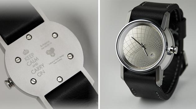 Industrial North Design Britannic watch